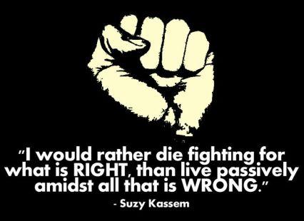 standing up conscience suzy kassem