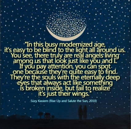 suzy-kassem quotes angel