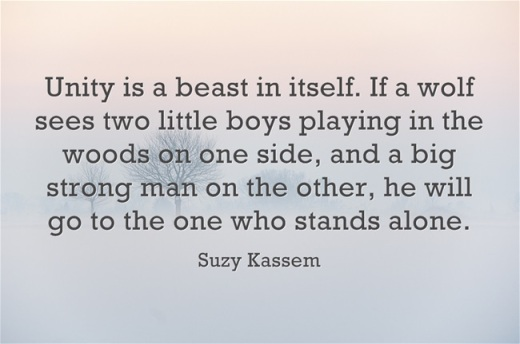 Unity-is-a-beast-in itself suzy kassem