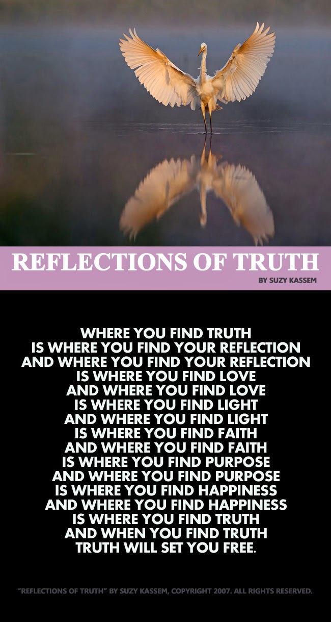 reflection of truth essay Join now log in home literature essays 1984 the reflection of george orwell 1984 the reflection of george orwell crystal epps the ministry of truth.