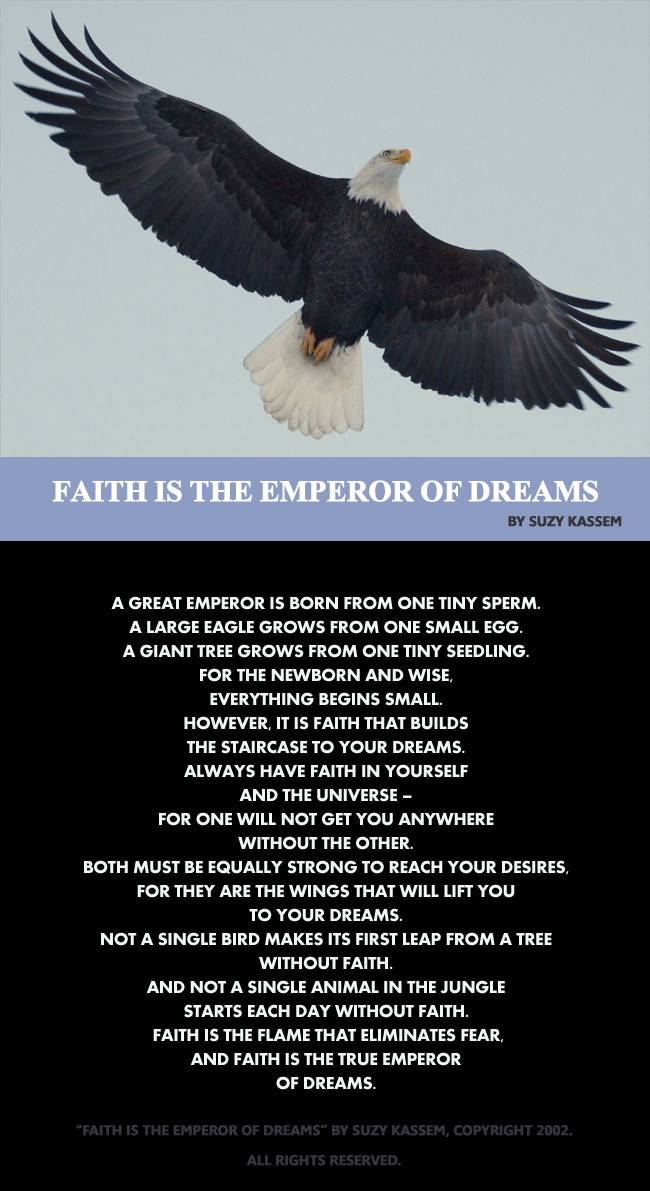 faith-is-the-emperor-of-dre