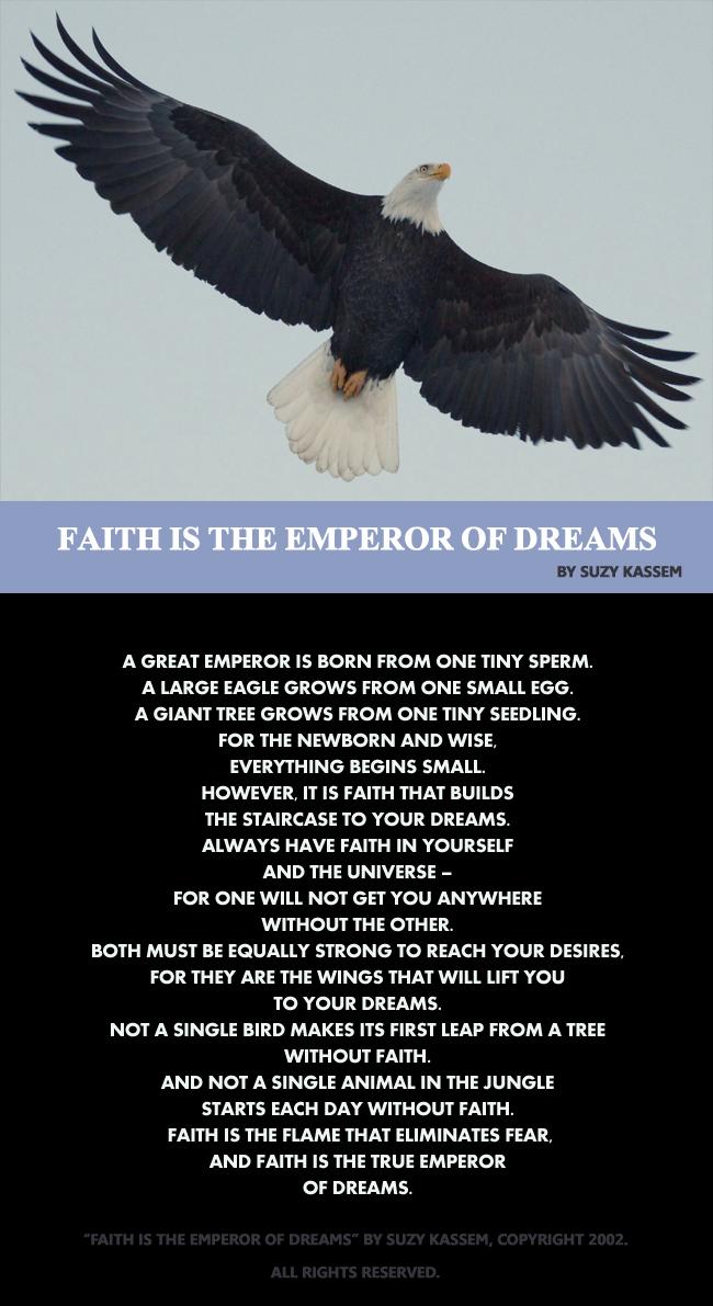 faith-is-the-emperor-of-dre