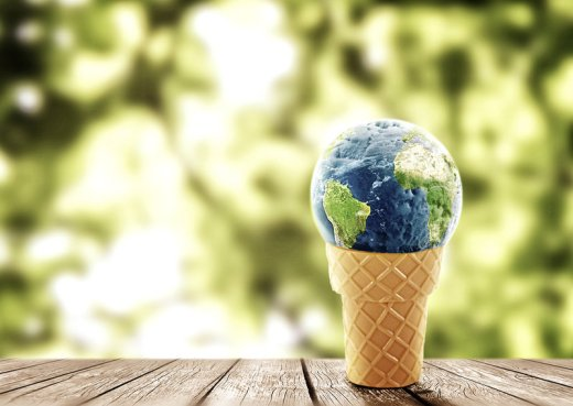 The world as a gigantic ice cream store