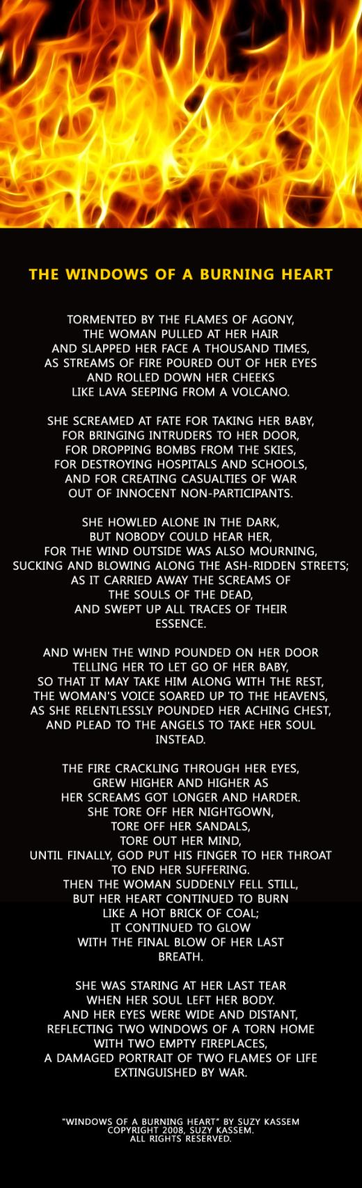 Suzy Kassem Poetry for War Mothers