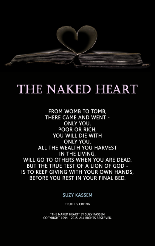 The Naked Heart Poetry Suzy Kassem