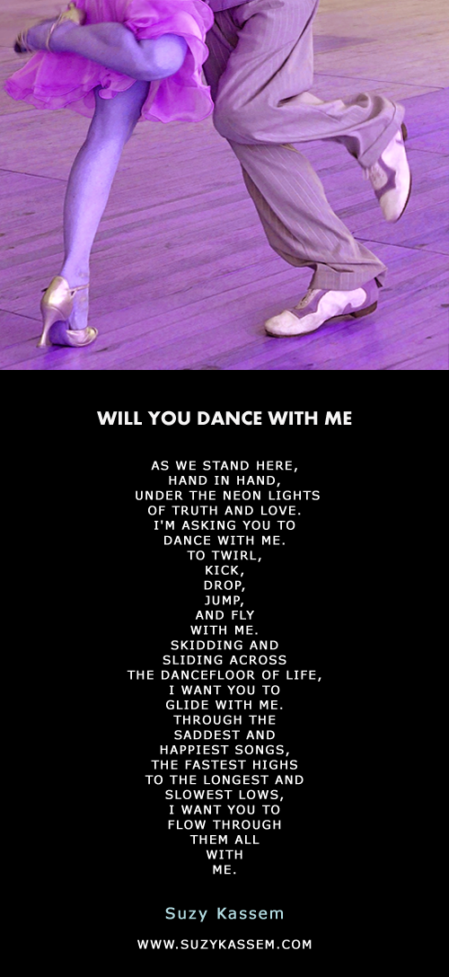 Will You Dance With Me Love Poem Suzy Kassem Poetry